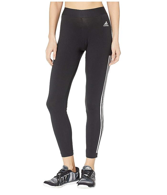 adidas Must Have 3-Stripe Tights (Black/White) Women