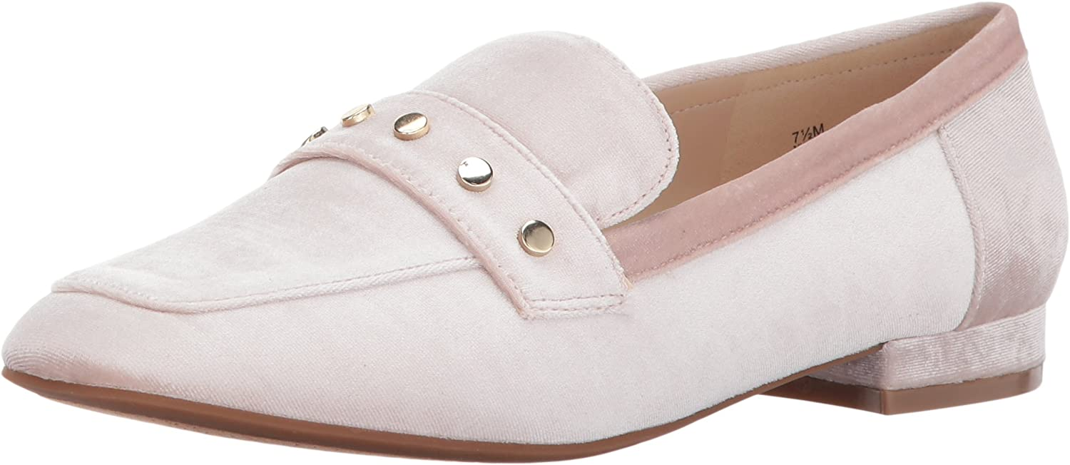 Nine West Womens Xan Fabric Moccasin