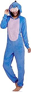 Womens Disney Eeyore- Winnie the Pooh Union Suit Blanket Sleeper (2X 18W-20W)
