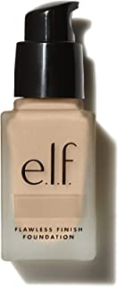 e.l.f., Flawless Finish Foundation, Lightweight, Oil-free formula, Full Coverage , Blends Naturally, Restores Uneven Skin ...