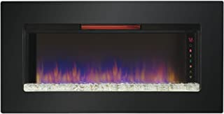 hanging gas fireplace