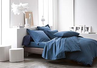 Today Drap-housse en coton - 201110 - Ciel d'Orage - 140 x 190 cm