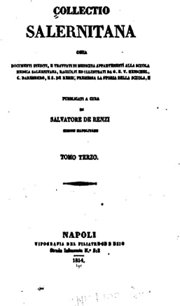 Collectio Salernitana - Tomo Terzo