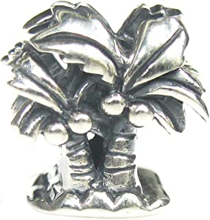 Best pandora style sterling silver palm tree charm Reviews