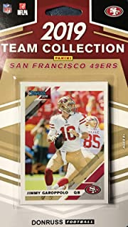San Francisco 49ers 2019 Donruss Factory Sealed 12 Card Team Set with Jimmy Garoppolo and Joe Montana Plus 10 Other Cards Including Deebo Samuel and Nick Bosa Rated Rookies