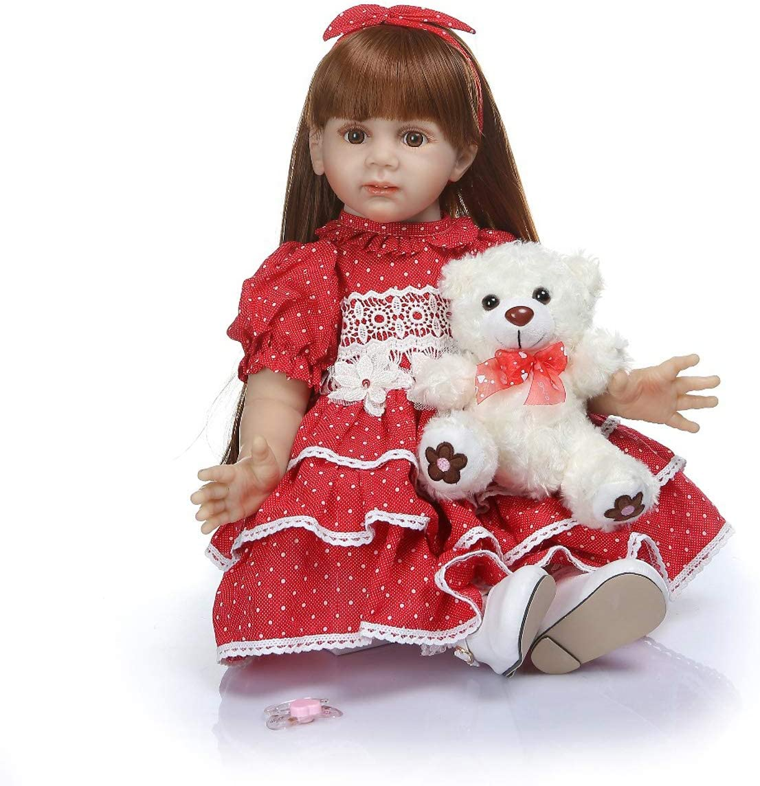 TERABITHIA 24 inch 60cm So Truly Size Real Lon Recommended Ultra-Cheap Deals 6-9Month Big Baby