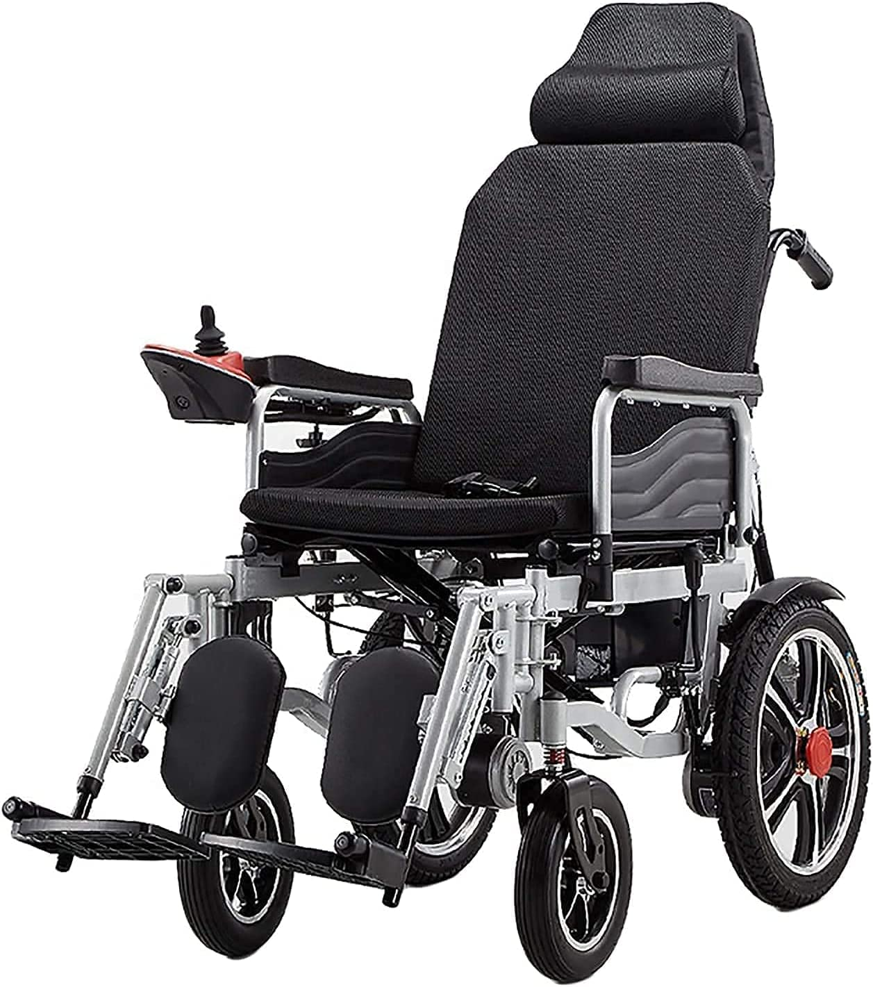 Electric Wheelchair Intelligent Automatic Full Foldable supreme Lying Po Max 42% OFF