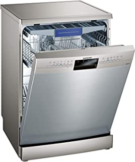 Siemens 6 Programs 13 Place settings Free standing dishwasher, Silver - SN236I10KM