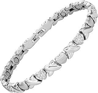 Ladies Titanium Magnetic Anklet Ankle Bracelet by Willis Judd