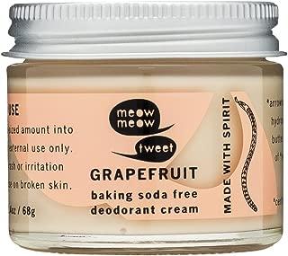 Baking Soda Free Sensitive Skin Grapefruit Deodorant Cream