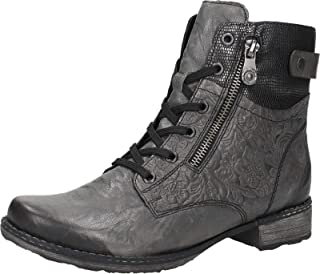 Women Ankle Boots Grey, (Smoke/Schwarz-Metall) D4379-46