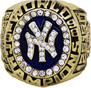 YIYICOOL NY 1998 Yankees Championship Ring Size 11 with Carton
