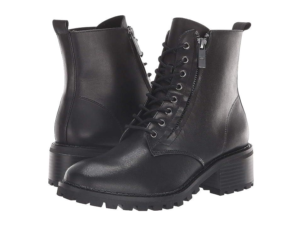 Halston Heritage Lois Bootie (Black Leather) Women