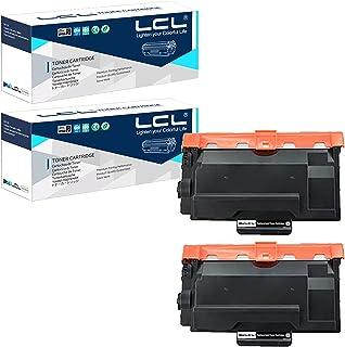 LCL Brother用 ブラザー用 TN-62JX TN-62J TN-61J 8000ページ(2パック ブラック) 互換トナーカートリッジ 対応機種:HL-L5000D,HL-L5100DN,HL-L5200DW,HL-L5200DWT,H...