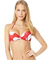 Moschino - Polka Dots Push-Up Bikini Top