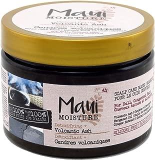Maui Moisture Scalp Care Mask Volcanic Ash 12 Ounce Jar (2 Pack)