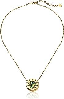 house of harlow black sunburst necklace