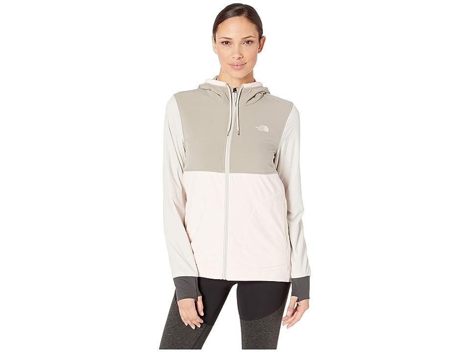 The North Face Mountain Sweatshirt Full Zip (Pink Salt Multi) Women