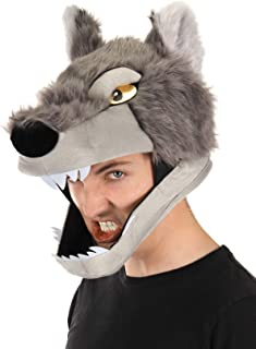 brown wolf hat