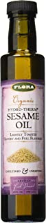 FLORA - Sesame Oil, Hydro-Therm Extraction, Organic, 8.5 Fl Oz