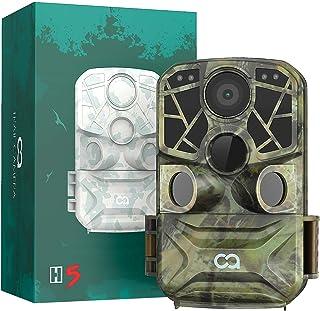 WiFi Bluetooth Trail Camera, COOAU 4K 24MP Hunting Game...