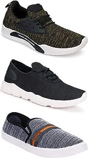 Earton Combo Pack of 3 Sports Shoe, Running Shoe for Men