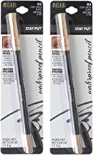 Pack of 2 Milani Stay Put Waterproof Eyeliner Pencil, Stay With Slate (02)