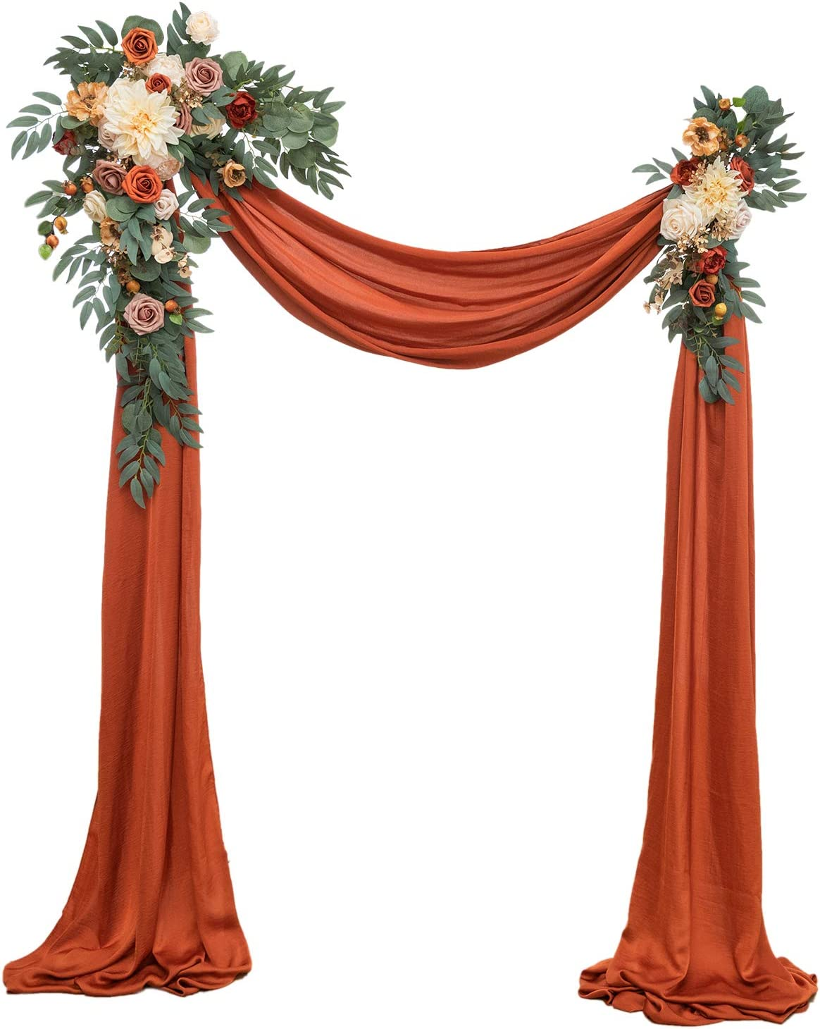 Ling's New color moment Artificial Wedding Arch Nippon regular agency Flowers 3 - of Kit Pack 2