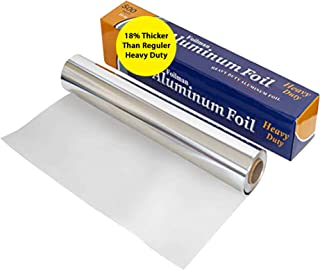 """Ultra-Thick Commercial Heavy Duty Foil Roll 18"""" inch x 500 SQ Foot"""