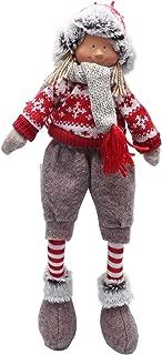 iGnome 19 Inches Handmade Christmas Gnome Decoration Doll Girl and Boy Swedish Figurines (Boy)