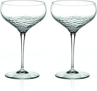 Vera Wang by Wedgwood Set of 2 Sequin Crystal Champagne Coupes