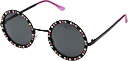 Bling Time Round Sunglasses