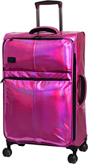 """it Girl 21.5"""" Spellbound 8 Wheel Holographic Lightweight Expandable Carry-on"""