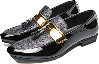 a4c41cfa7322 Microfiber Leather Loafers Shoes Luxury Wedding Comfortable Male Footwear  Loafers Shoes