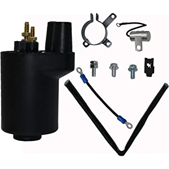 Autu Parts Ignition Coil for 166-0772 Onan Points Models BF B43 B48 NHC CCK 166-0648 166-0804 Engine New Ignition Coil