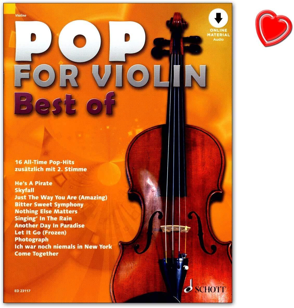 Pop for Violin : Best of - 16 juegos de pop hits todo en uno - El ...