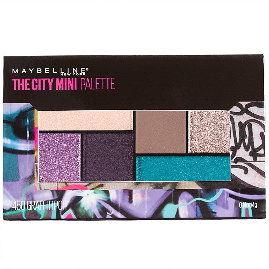 占める海賊独立したMAYBELLINE The City Mini Palette - Graffiti Pops (並行輸入品)