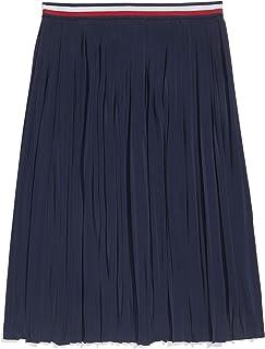 Women's Adaptive Pleated Skirt with Adjustable Waist