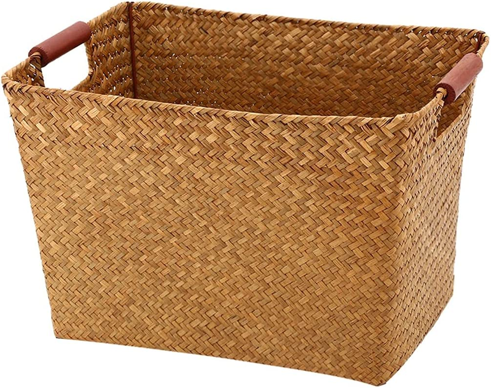 Picnic Baskets Handmade Straw Al sold out. Max 41% OFF Basket Storage Double-Handle Organ