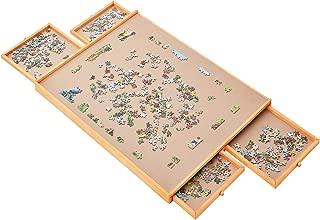 Best 1000 piece puzzle table Reviews