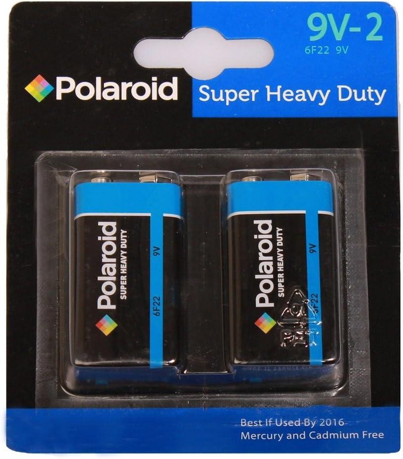 Now on sale Polaroid 9v PP3 Super Heavy 2 Long Beach Mall Duty Pack POL44640 Battery