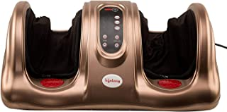 Lifelong LL81 Foot Massager with Heat, Brown