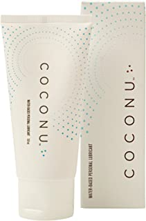 Coconu Natural Personal Lubricant - Coconut Water-Based - 3 Fluid Ounce