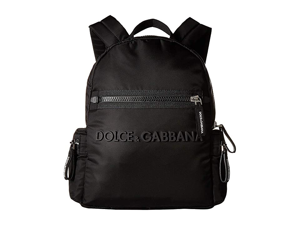 Dolce   Gabbana Kids DG Backpack (Black Black) Backpack Bags 4195315be23a9