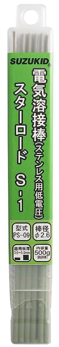 耳ブレススイッチスズキッド(SUZUKID) S-1 2.6φ*230mm 500g PS-09