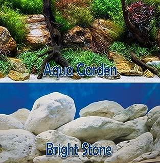 """New Seaview AquaGarden/Brightstone 24"""" Aquarium Terrarium Double-Sided Background"""