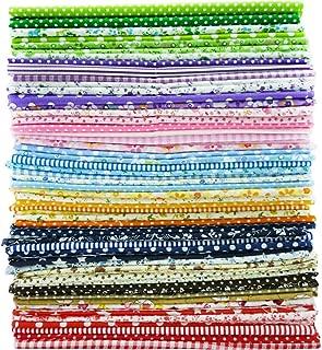 56Piezas/lot 49cm * 49cm tela de algodón Patchwork Quilting Bundle de costura Patchwork