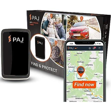 Paj Gps Allround Finder Version 2020 Gps Tracker Etwa 20 Tage Akkulaufzeit Bis Zu 60 Tage Im Standby Modus Live Ortung Peilsender Für Auto Personen Auto