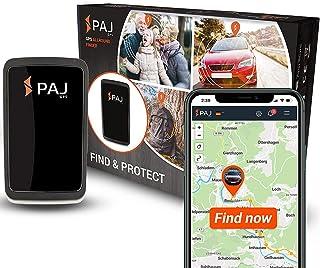 PAJ GPS Allround Finder Version 2020  GPS Tracker etwa 20 Tage Akkulaufzeit (bis zu 60 Tage im Standby Modus) Live Ortung Peilsender für Auto, Personen