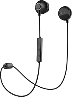 Bluetooth Headset, Wireless Earbuds V4.1 Stereo Noise Canceling Sport Magnetic Headphones Earpieces with Built in Mic Comp...